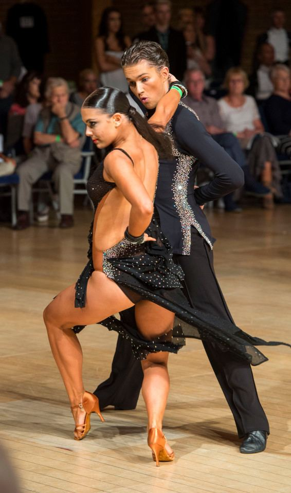 Chloe Hewitt Strictly dancers enter amateur competition and come second