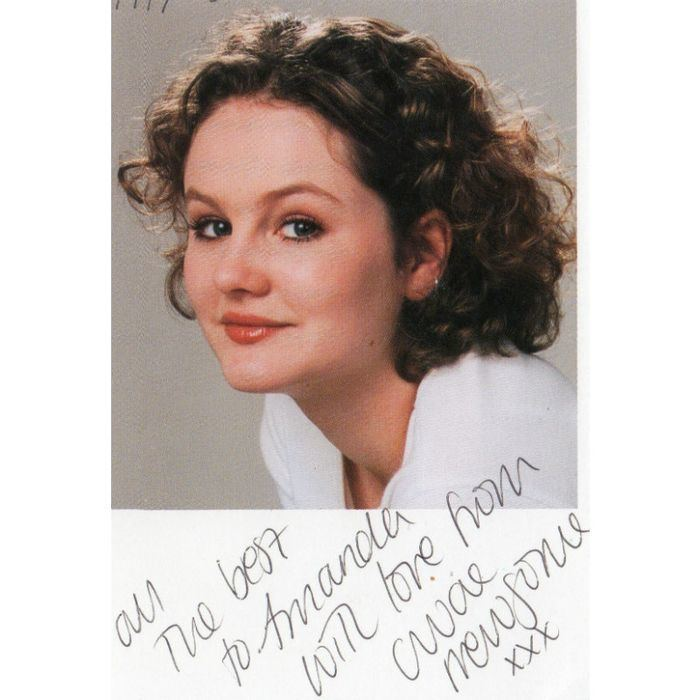 Chloe Newsome PR Card Chloe Newsome Coronation Street Dedicated Handsigned