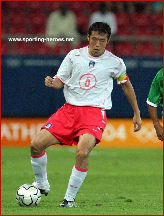 Cho Byung-kuk Cho ByungKuk Olympic Games 2004 South Korea