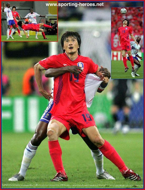 Cho Jae-jin Cho JaeJin FIFA World Cup 2006 South Korea