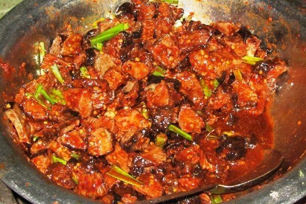 Choila Best Newari Eateries in Lalitpur The Nepali Food Blog theGundrukcom
