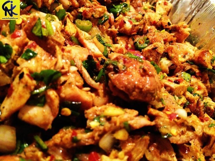 Choila Chicken Choila Recipe Nick39s Palate Cooking Made Simple
