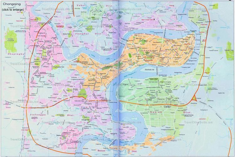 Chongqing Travel China City Map Tours Attractions Weather