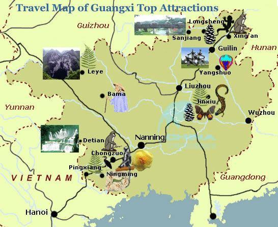 Chongzuo Tourist places in Chongzuo