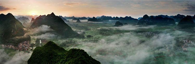 Chongzuo Beautiful Landscapes of Chongzuo