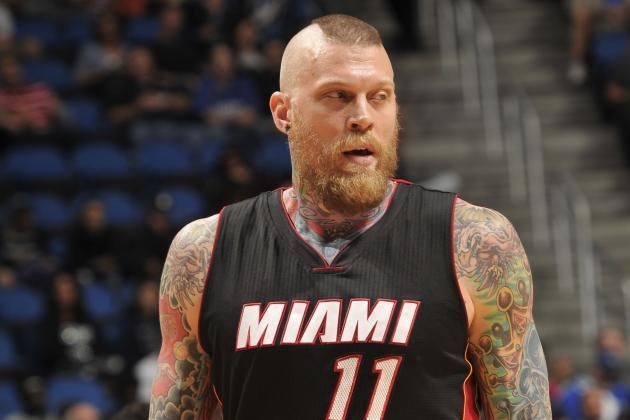 Chris Andersen Chris Andersen Illness Updates on Heat Forward39s Status