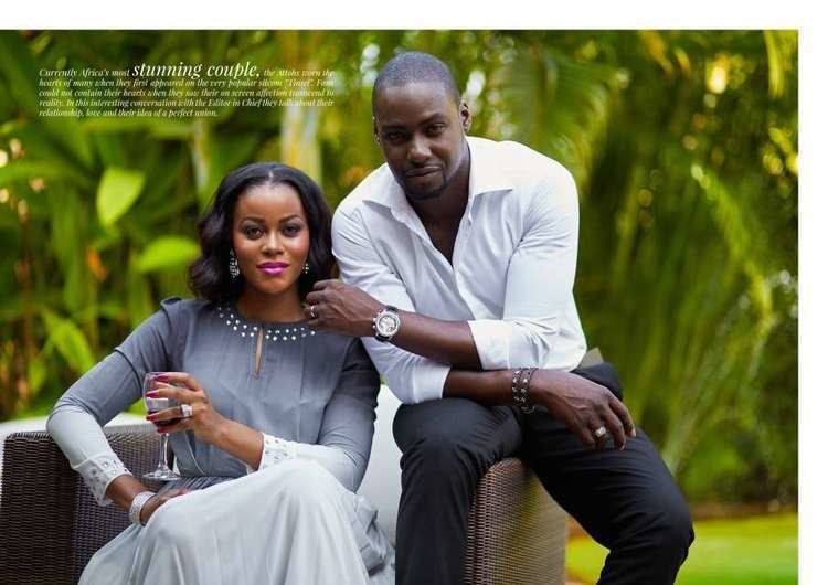 Chris Attoh Chris Attoh Actor says he gave his wife a hard time when they were