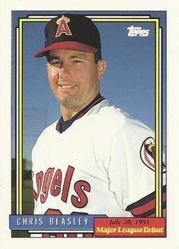 Chris Beasley (baseball) Chris Beasley Gallery The Trading Card Database
