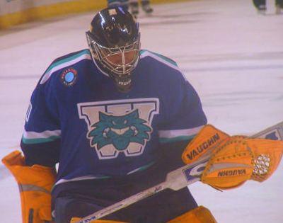 Chris Beckford-Tseu Worcester Icecats goaltending history Chris BeckfordTseu