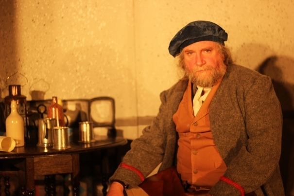 Chris Begg Chris Begg has defied a serious injury to star in a new Robert Burns