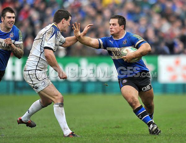 Chris Biller Bath Rugby v Leinster Chris Biller looks to handoff Jonathan