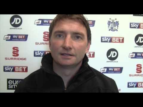 Chris Brass Bury FC Chris Brass YouTube