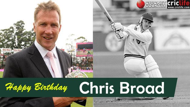 Chris Broad 16 facts about the former England opener turned ICC