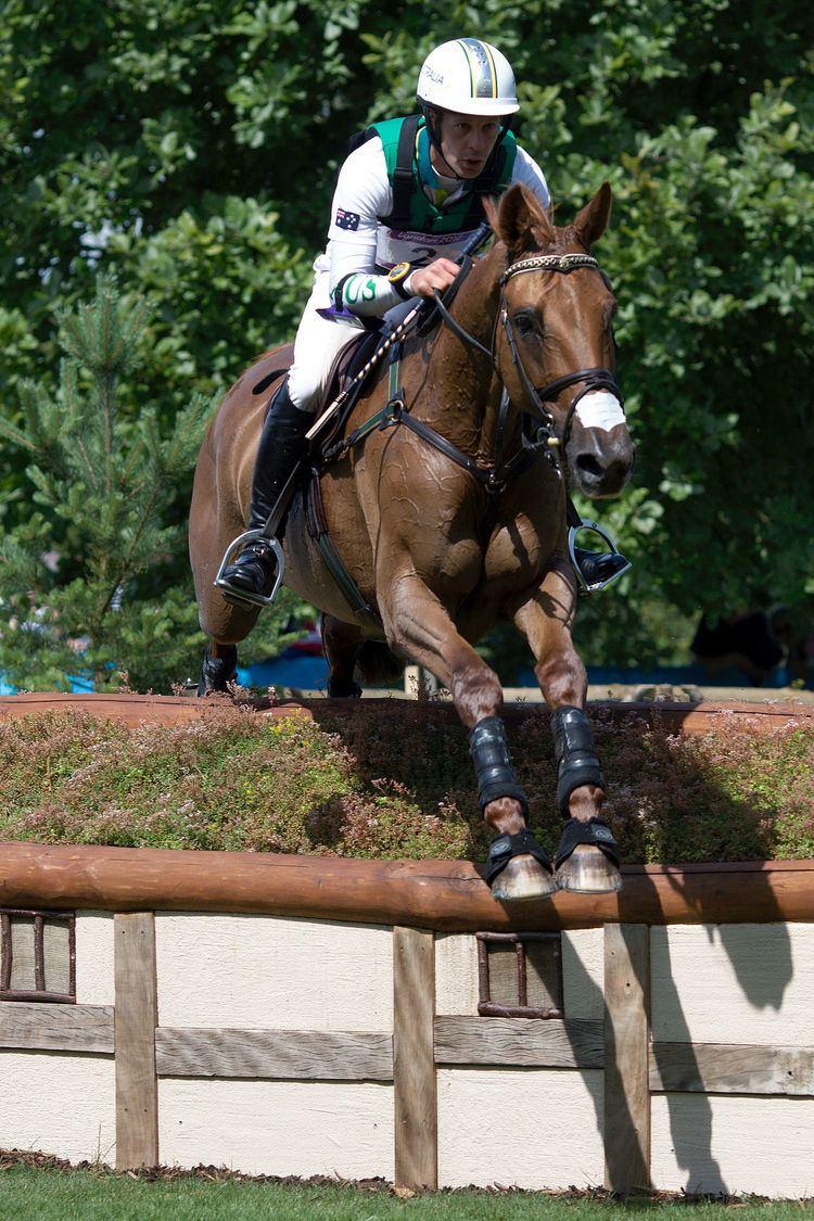 Chris Burton (Australian footballer) Chris Burton equestrian Wikipedia