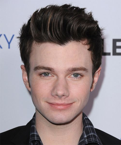Chris Colfer Chris Colfer Hairstyles Celebrity Hairstyles by