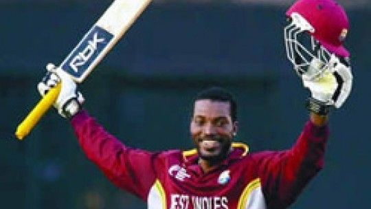 Chris Gayle (Cricketer) in the past