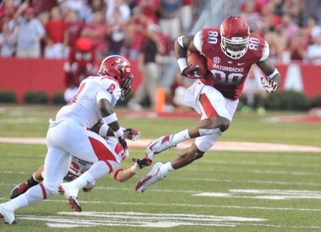 Chris Gragg Razorbacks Tight End Chris Gragg Earns Weekly Mackey Award