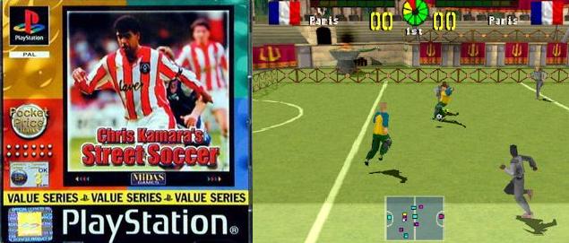 Chris Kamara's Street Soccer 14 Of The Finest Retro 39PlayerAffiliated39 Football Computer Games