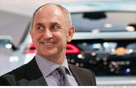 Chris Liddell GM CFO Liddell making surprise departure from company