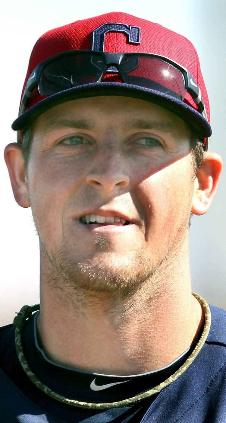 Chris McGuiness Chris McGuiness39 time with Cleveland Indians could be