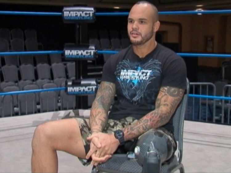 Chris Melendez Veteran Who Lost Leg in Iraq Is Now a Professional Wrestler ABC News