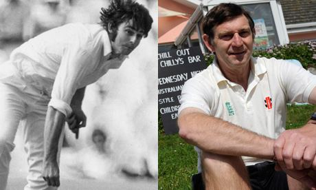 Chris Old (Cricketer) playing cricket