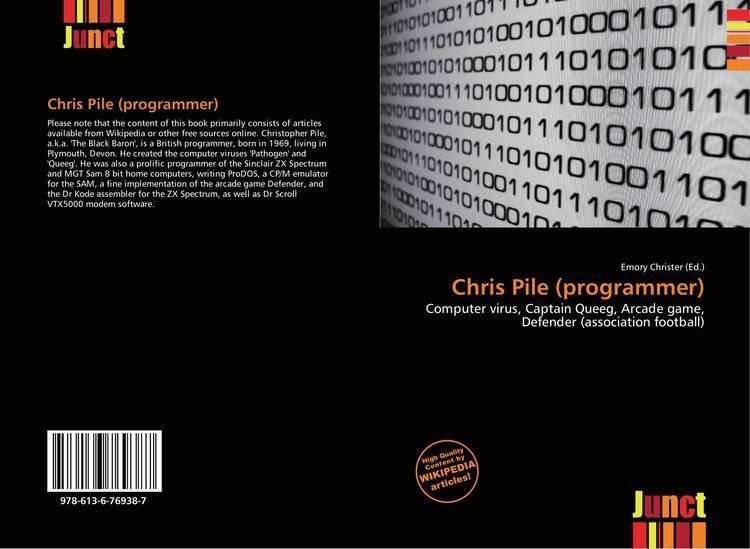 Chris Pile (programmer) Chris Pile programmer 9786136769387 6136769387 9786136769387
