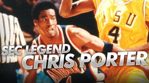 Chris Porter (basketball) Chris Porter named Auburn39s SEC Basketball Legend