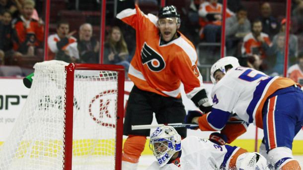 Chris Porter (ice hockey) Wild claim Parise39s buddy Chris Porter off waivers from