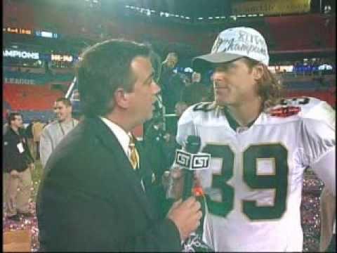 Chris Reis Chris Reis Super Bowl Interview YouTube