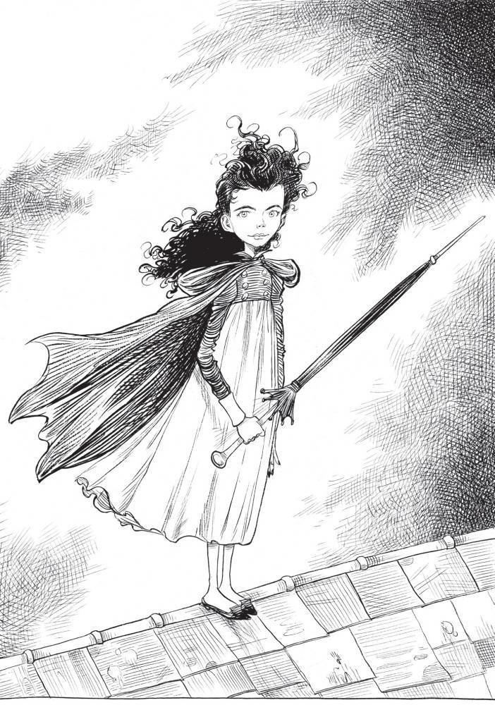 Chris Riddell Chris Riddells Goth Girl And The Ghost Of A Mouse Metro News