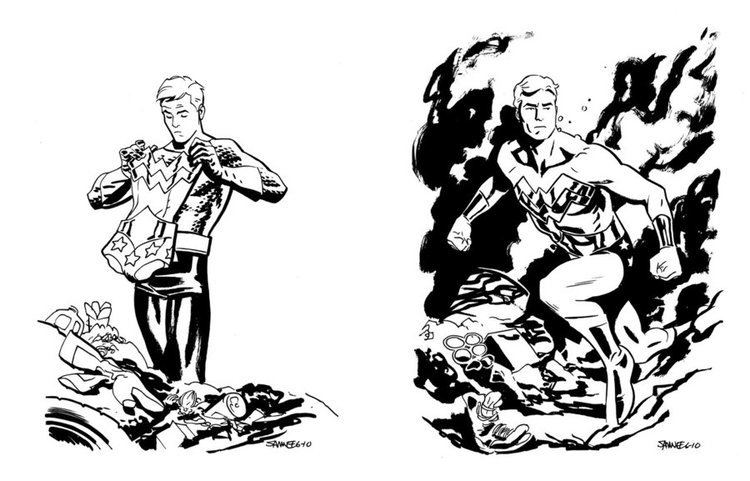 Chris Samnee scansdaily Cover for Thor the Mighty Avenger 5 from