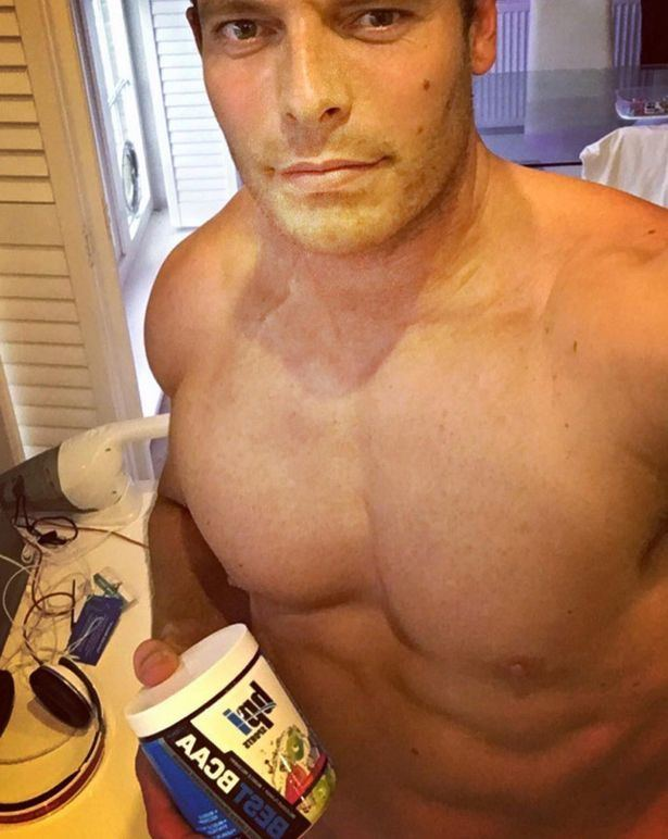 Former England star Chris Tremlett shows off massive muscles gained