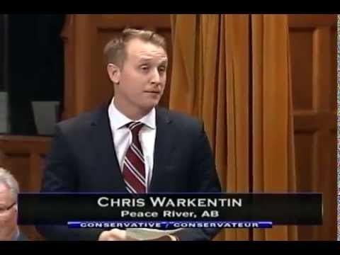 Chris Warkentin Chris Warkentin MP Pays Tribute to the Generosity of the