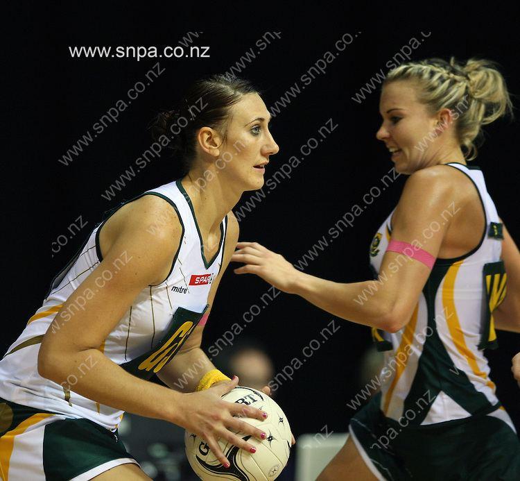 Chrisna Bootha HamiltonNetball Quad Series England v South Africa