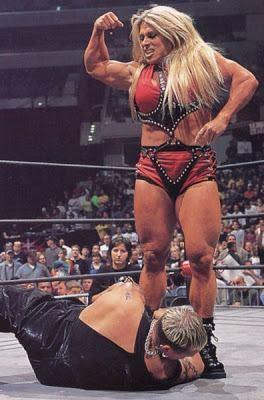 Christi Wolf Wrestling Redux Christi Wolf Asya WCW