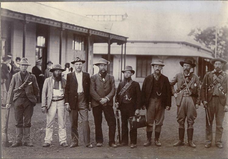Christiaan de Wet Generaal de Wet en sy staf te Potchefstroom 1901 Memory
