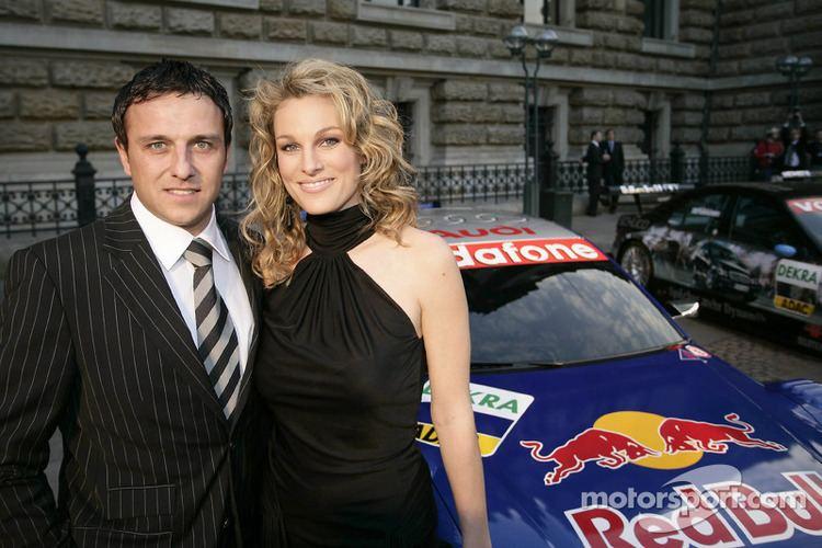 Christian Abt Christian Abt with girlfriend Christina Surer at DTM