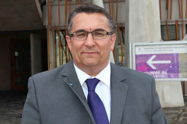 Christian Allard French MSP Christian Allard sworn in at Holyrood Daily