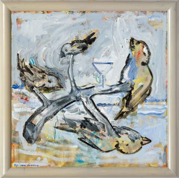 Christian Attersee Galerie Ernst Hilger