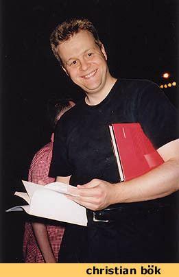 Christian Bök Electronic Poetry Center
