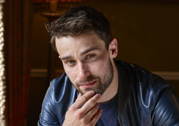 Christian Cooke Actor Christian Cooke who plays the character Stewart in Stonemouth