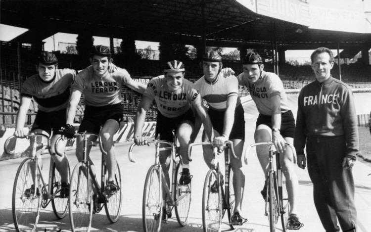 Christian Cuch Christian Cuch cycliste aux Jeux de Tokyo 1964 Sud Ouestfr