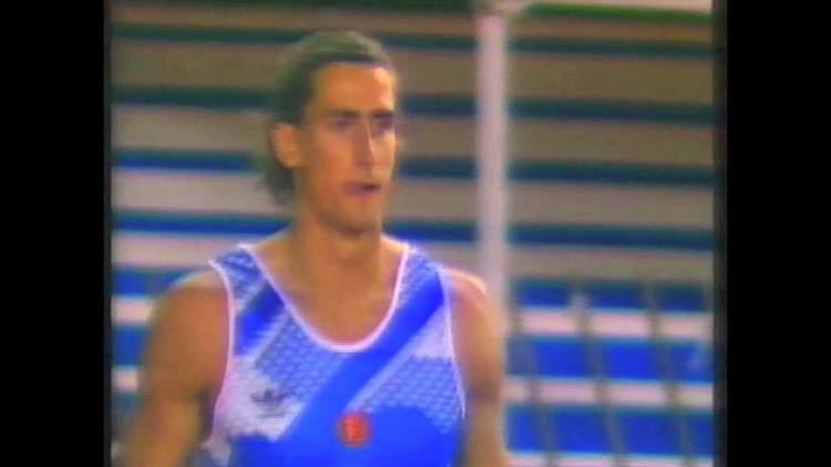 Christian Schenk 2868 European Track Field 1990 Split Decathlon High Jump Christian
