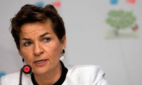 Christiana Figueres UN chief challenges world to agree tougher target for