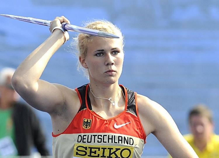 Christin Hussong rundum zufrieden und U23 Deutscher Rekord