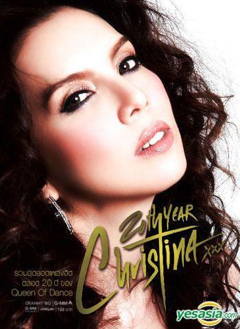 Christina Aguilar YESASIA Christina Aguilar 20th Year Christina 2CD Thailand