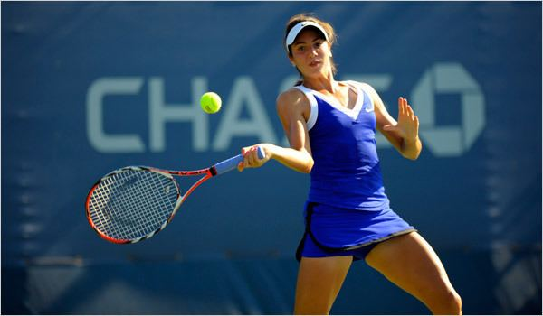 Christina McHale Christina McHale Teams Up With Buddy Fruits This Week in Tennis