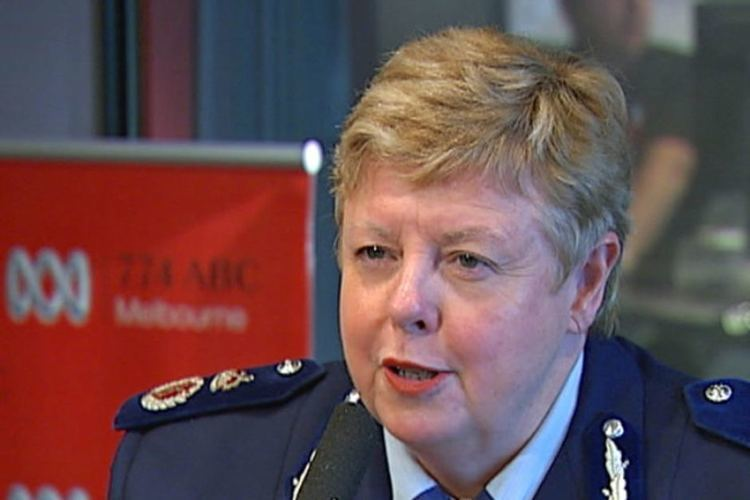 Christine Nixon Victoria Police Chief Commissioner Christine Nixon talking on 774