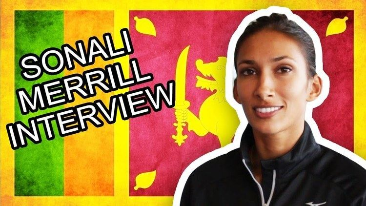 Christine Sonali Merrill Sonali Merrill Interview Sri Lankan Olympian YouTube
